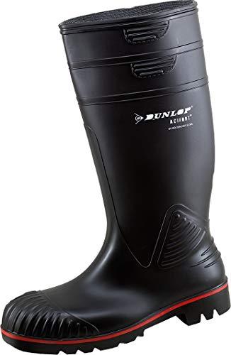 Dunlop Sports Dunlop Gummistiefel S5 Acifort schwarz (48, Gummistiefel)