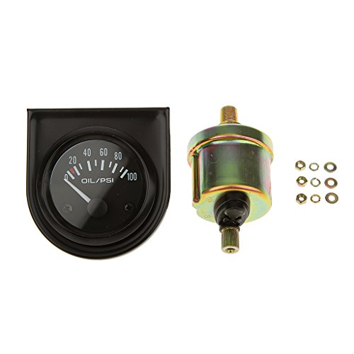 Probadores Medidores Manómetro de Presión Aceite Combustible Digital Alta Sensibilidad 0 ~ 100PSI Rango