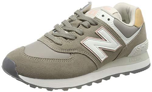 New Balance Damen 574v2 Sneaker, Grau (Grey Grey), 43 EU