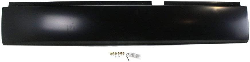Roll Pan for DODGE RAM 02-08 ROLLPAN Rear w/o License Plate Part w/Hardware
