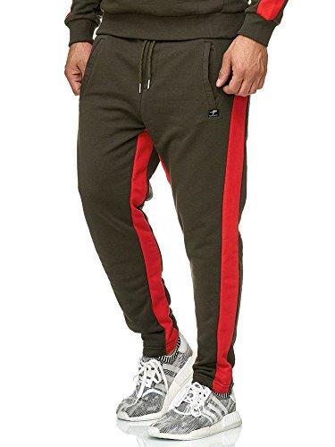 Red Bridge joggingbroek heren joggerbroek sportbroek met strepen