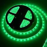 Tira de luces LED, flexible, 300SMD, 5050LEDs, resistente al agua, 12V, 5m, rosso
