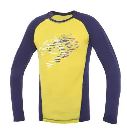 Directalpine Furry Long 1.0 Maillot à Manches Longues Homme, Indigo/Aurora Modèle XL 2019 T-Shirt Manches Longues