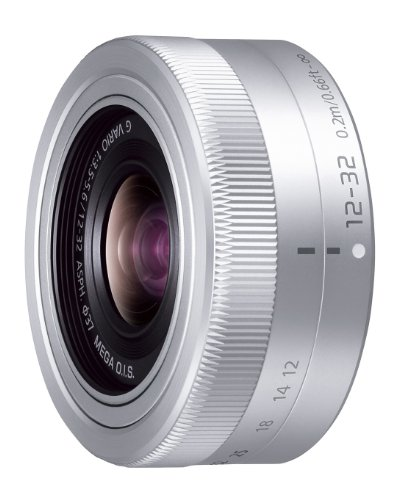 Panasonic 標準ズームレンズ マイクロフォーサーズ用 ルミックス G VARIO 12-32mm/F3.5-5.6 ASPH./MEGA O.I.S. シルバー H-FS12032-S