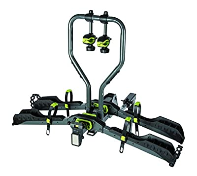 BUZZRACK Approach 2-Bike Platform Hitch Rack, E-Bike Compatible, Fat Bike Compatible with Additional Purchase of The kit