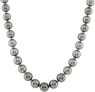 14k Gold 10-12mm Tahitian South Sea Cultured Pearl Necklace - AAA Quality (18)