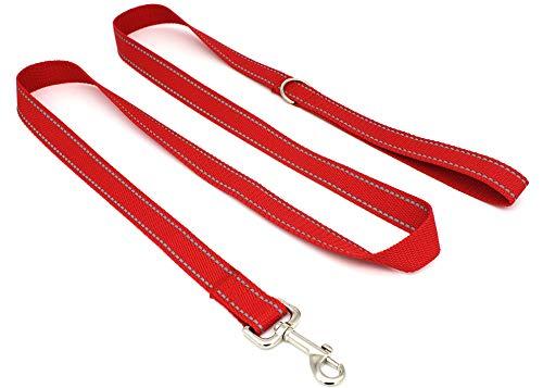 SUNNQ Reflective Dog Leash 6ft - Nylon Dog Leashes for Small Dogs, Medium Dogs, Large Dogs - 6ft...