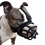 Best Dog Muzzles - LUCKYPAW Dog Muzzle, Soft Basket Muzzle for Medium Review