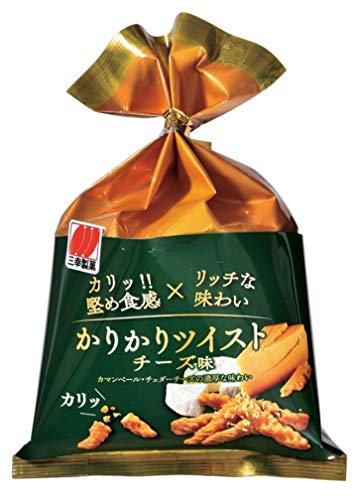 三幸製菓 かりかりツイストチーズ 60g ×10袋