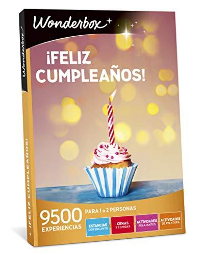 WONDERBOX Caja Regalo -¡Feliz CUMPLEAÑOS!- 9.500 experiencias para Dos Personas