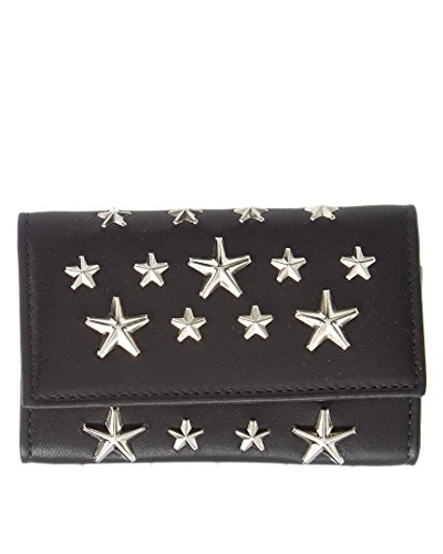 Jimmy Choo Ladies Neptune Leather Key Holder with Stars