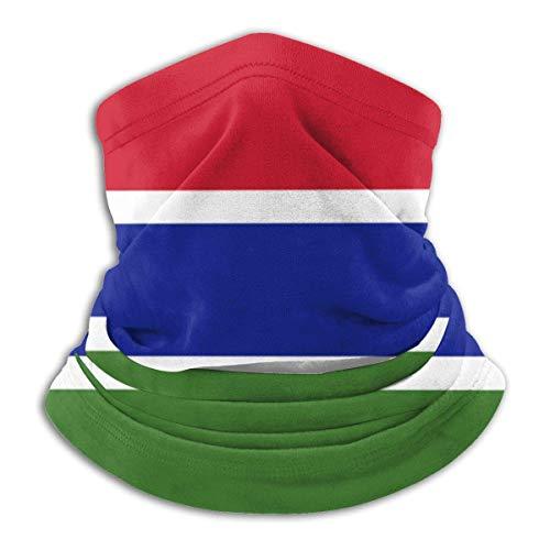 LAKILAN Bandera De Gambia Diademas para Exteriores,Banda Elstica Ultra Suave,Sombreros Sin Costuras,Pauelo Deportivo,Cubierta Facial