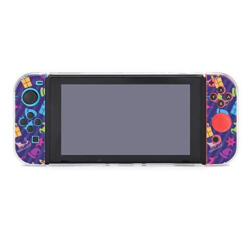 Funda para Nintendo Switch Christmas en color morado 5 piezas Funda protectora...