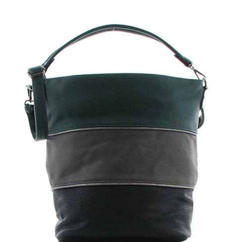Funbag Handtasche Shopper Beutel Maestro – Petrolkombi