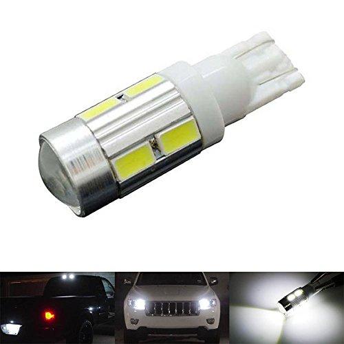 katur Lot de 1 T10 194 W5 W 10SMD 5730 Ampoule LED voiture LED Parking Ampoule