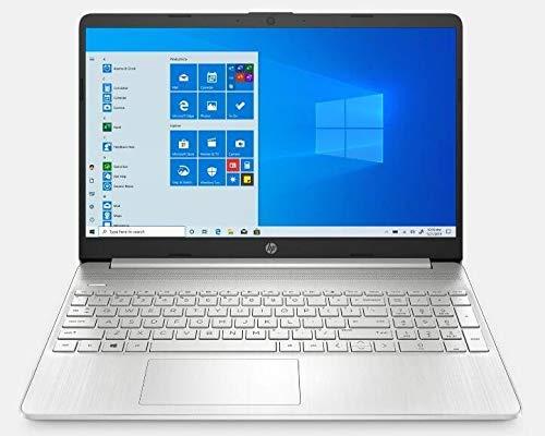 2021 Latest HP 15.6″ HD Touchscreen Laptop PC Intel 11th gen Core i3-1115G4 8GB DDR4 RAM 256GB NVMe SSD, HD Webcam,USB-C, HDMI, Windows 10 S, Natural Silver, LPT 32GB USB Drive