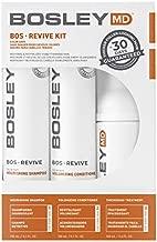 BosleyMD BosRevive KIT for Visible Hair Thinning (Color Safe), Starter Size (30 Days)