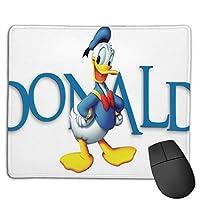おしゃれなドナルドダック3 マウスパッド おしゃれ 高級感 ゲーミング オフィス最適 滑り止めゴム底 付着力が強い 耐久性が良 22x18x0.3cm