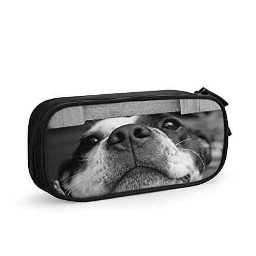 Cachorro Perro Lindo Mascota Estuche Escolar Multifuncional Estuche De Lápices De Gran Capacidad para Hombre Mujer Estudiante En Escuela Oficina para Niñas Niños