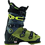 K2 - Zapatillas de esquí Recon 120 LV Gripwalk Green-Black para hombre, talla 44, color verde