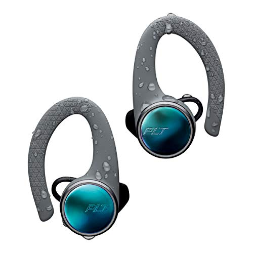 Plantronics BACKBEAT FIT 3100 Bluetooth-Sport Headset/Kopfhörer, In-Ear, IP57 mit Ladeetui Grau