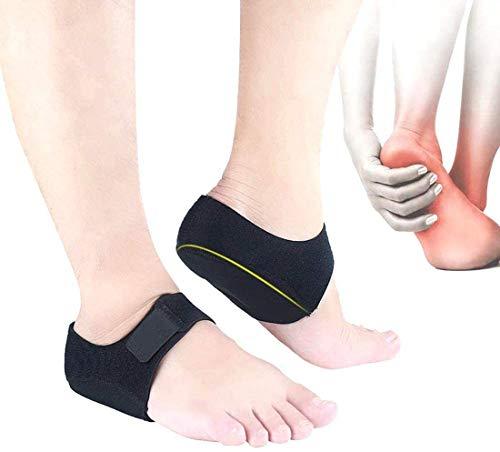 Heel Protectors,Heel Cups for Heel Pain Plantar Fasciitis,Heel Pads Inserts Great for Relief Heel Pain, Heal Dry Cracked Heels, Achilles Tendinitis, for Men & Women