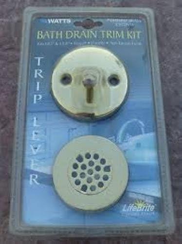 Watts Polished Brass Bath Drain Kit C932PVD cheap Trim Max 70% OFF