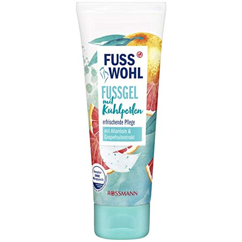 Cooling Foot Gel | with Allantoin & Grapefruit Extract | Refreshing Care | 75 ml | Rossmann | Germany