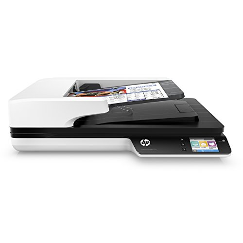 HP ScanJet Pro 4500 fn1 Network OCR Scanner