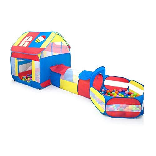 XinQing-Tienda Carpa Infantil, Princesa Juguete Casa, Castillo de los Niños, Juego Cubierta Tienda del océano Ball Pool, de Regalo Ideal for niños y niñas (Color : B)