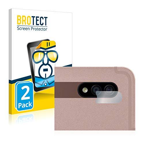 BROTECT Schutzfolie kompatibel mit Samsung Galaxy Tab S7 Plus 5G 2020 (nur Kamera) (2 Stück) klare Displayschutz-Folie