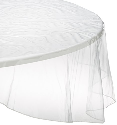 Rond tafelkleed transparant diameter. 140 cm CRISTAL