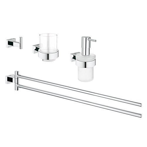 Grohe Bad-Set 4 in 1 Cube, 1 Stück, 40847001