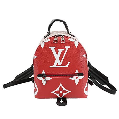 レディース リュックサック ミニバックパック ミニリュック ショルダーバッグ ハンドバッグ 可愛い シンプル ミニ バッグ ファッション (レッド)