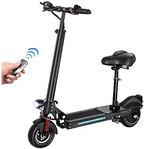 BRFDC Electric Scooter para Adultos Deslizándose Movimiento Scooter eléctrico Plegable 36V / 350W E-Scooter de 35 km/h con Carga USB City Scooter eléctrico for el Adulto y Adolescente (Color : 45km)