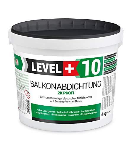 4 kg, Balkonabdichtung 2K, Terrasse, Balkone, Dusche, Bad, Abdichtung RM10