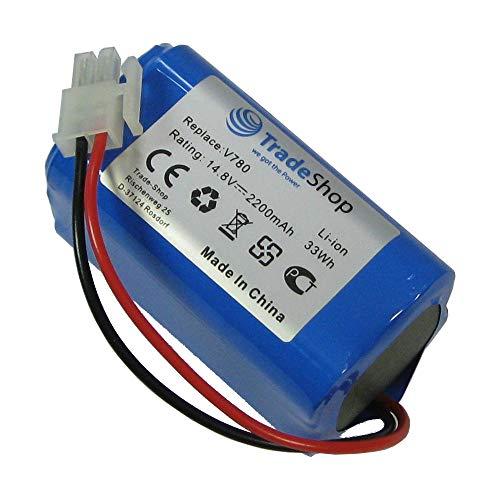 Trade-Shop Premium Li-Ion Akku 14,8V / 2200mAh / 33Wh für Ecovacs Deebot CR130 CEN 540 Dibea V780, V870 ersetzt 4ICR19/65