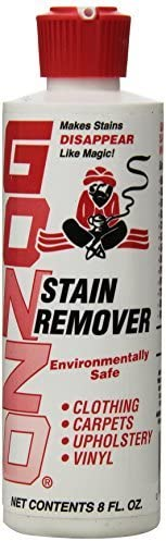latest Gonzo 1 year warranty Stain Remover 8 Oz Pack ea of 4 oz