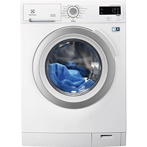 Electrolux eww1696swd Belastung Bevor A weiß Waschmaschine mit Wäschetrockner–Waschmaschinen mit Wäsche (Belastung Bevor, weiß, links, drehbar, Oberfläche, LCD, 6kg)