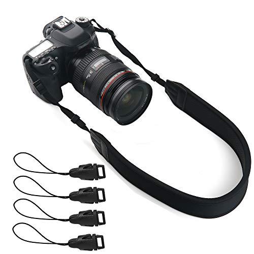 Camera Neck Strap, DSLR Shoulder Strap Sling Neoprene Padded Quick Disconnects
