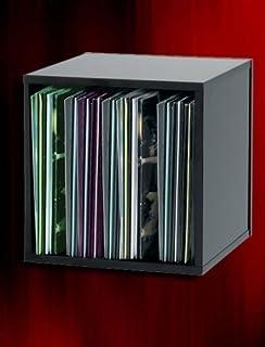MODULO ESTANTERIA EN Madera Color Negro para 100 Discos DE Vinilo LP/Ref.MAR004