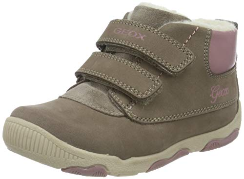 Geox Baby Mädchen B New BALU' Girl A Ankle Boot, Brown (Smoke Grey), 25 EU