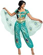 Disney Aladdin Live Action Womens Jasmine Costume Small Green