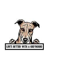MDGCYD 車 ステッカー犬 R 18 * 23Cm素敵なペットの犬の車のステッカー漫画の動物の子犬の車のスタイリングボディウィンドウ車のステッカーとデカール自動装飾カーアクセサリー