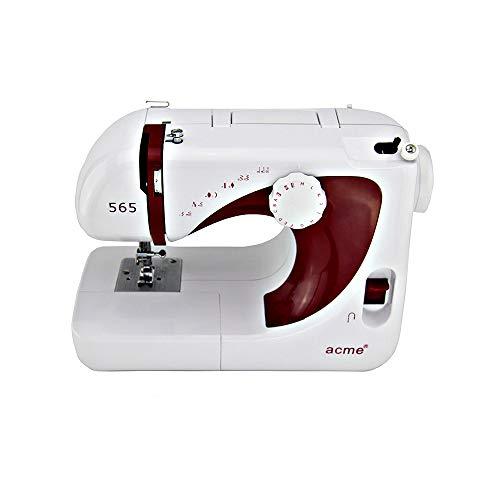 Huishoudelijke Portable Naaimachine, Electric Heavy Duty Naai Machine met 13 ingebouwde steken en LED Light, eenvoudige bediening, Overlock Quick Naaien Tool voor DIY Beginner