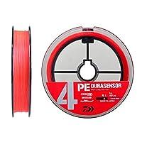 ダイワ(DAIWA) PEライン UVF PEデュラセンサーX4+Si2 1.5号 200m コーラルレッド