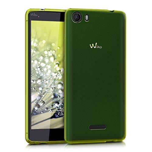 kwmobile Wiko Fever 4G Hülle - Handyhülle für Wiko Fever 4G - Handy Case in Grün