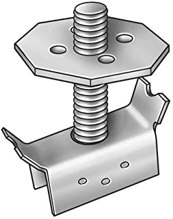 Grating Fasteners, GM-1/2 X 3, Grating Clip, Mount, 1-2 Bar H, PK20