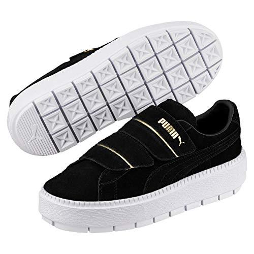 PUMA Platform Trace Strap Damen Sneaker Puma Black-Puma Black UK 6_Adults_FR 39