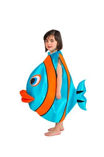 Nines d'Onil Export - Disfraz de pez (D8441)